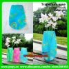 HY2001blue More than 1000 styles top quality new arrival FREE SAMPLES mix styles&colors foldable plastic magic vase