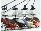 Phoenix 6010 fashional led helicopter toys ,6ch rc helicopter