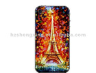 Custom Print Romantic Tower Silicone Skin for i Phone 5