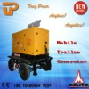 Air brake, two exis four wheels! ,with signal lights,Trailer generator