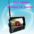 "2012 Newest 7"" wireless car monitor with digital screen"