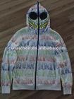 100%cotton printed hoodies