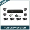4ch/8ch/16ch CCTV Camera DVR Kits