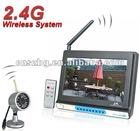 "Motion Detection Night vision 7"" wireless DVR"