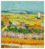 Repro Hand Painted Oil Painting Van Gogh The Harvest