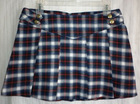 Y/D PLAID PLEATED SKIRT