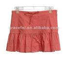 Girls mini cotton skirt