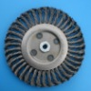 Twist Knotted Wheel Wire Brush