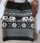 girls young ladies skull knit sexy skirt