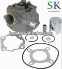 aluminum ceramic performance racing cylinder kit Derbi Senda 40mm 47mm spare parts aluminum and iron water cooling