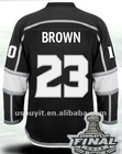 2012 Stanley Cup Patch Kings Jerseys #23 Dustin Brown home Authentic ice hockey Sports jersey size 48-56 Wholesale Mixed Order