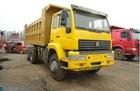 395HP HOWO Golden King tipper dump truck