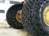 wheel loader tyre protection chains