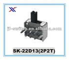 SSk-22D13(2P2T) 2p2t mini slide switch