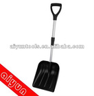 Snow Shovel, Metal & Plastic, extend-retract handle