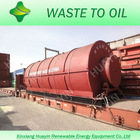 HUAYIN tire recycled machine for diesel For 10 tons tyres