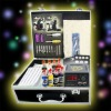 TATTOO KIT 2 GUNS 4 TUBES with GRIPS Needle/ 8 INK WS-K058
