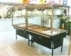 supermarket food cart