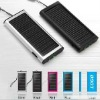 1350mAh solar charger with 1 LED for mobile phone laptop and MP3 MP4 MP5