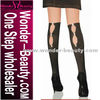 2012 Hot sale black short stocking