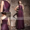 Coniefox One-Shoulder Beaded Formal Red Carpet Dresses 81238