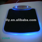 New Hot selling led usb mouse pad with light usb 4 port hub