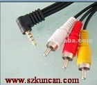 AV cable 3rca to DC 3.5