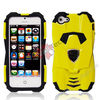 Sports Car Design 2 in 1 Detachable Dual Color Hard Case Silicone Cover for iPhone5,Dual Color Housing for iphone 5