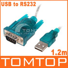 USB to RS232 Serial 9Pin DB9 Cable Adapter PC PDA GPS