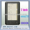 Supply 7 Inch TFT Panel E-book Reader