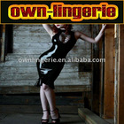 latex leather lingerie w6011
