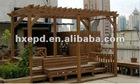 WPC Pergola,Wood plastic trellis,UV resistant garden funiture