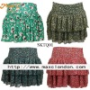 2013 New arrival cute sexy girls cheap printed mini skirt