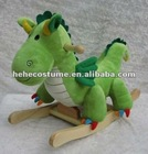 wholesale plush baby rocking dinosaur