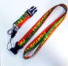 Custmos Printed Polyester Lanyard Belt