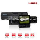Dual Camera Car DVR X6000
