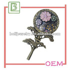 Fashion small flower makeup mirror for ladies