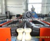 PE PA PP PVC Single wall corrugated pipe production line