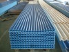 colored Corrugated PVC roofing tiles for building material