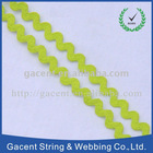 plaided polyester woven tape
