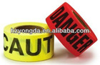 barricade caution tapes