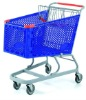 supermarket shopping trolley, plastic trolley