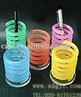 Cusomized logo creative acrylic pencil pen holder