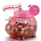 Hot Sale!Piggy Shaped Coin Bank