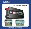 Modified sine wave 12V/24V -220V/110V Car Power Inverter 2000w (P-2000)