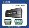 Modified sine wave 12V/24V -220V/110V Car Power Inverter 3000w (P-3000)