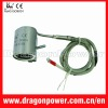 Plastic processing hot runner nozzle heater