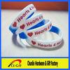 Newly promotional segmented silicone wristband