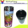 450ml insert paper double wall coffee mugs