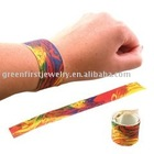 Reflective Slap bracelet/wristband/snap/clack/promotion/pvc/reflective/bracelets/souvenir/logo/gift/fashion